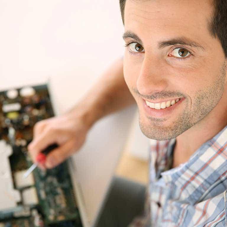Réparation de pannes informatiques
