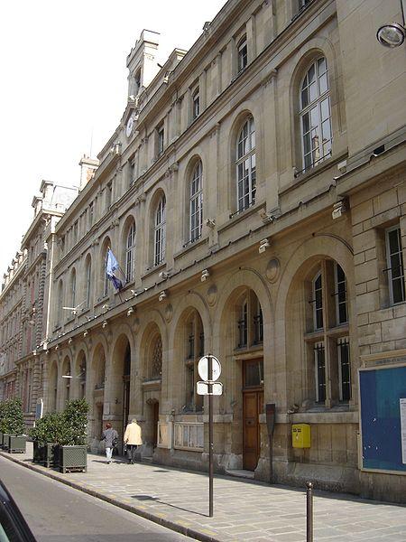 La mairie du 2ème arrondissement de Paris