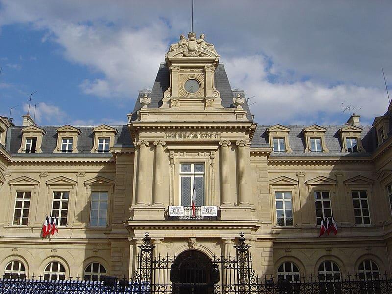La mairie du 3ème arrondissement de Paris