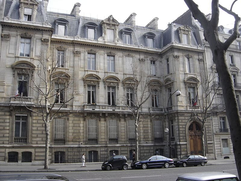 La mairie du 8ème arrondissement