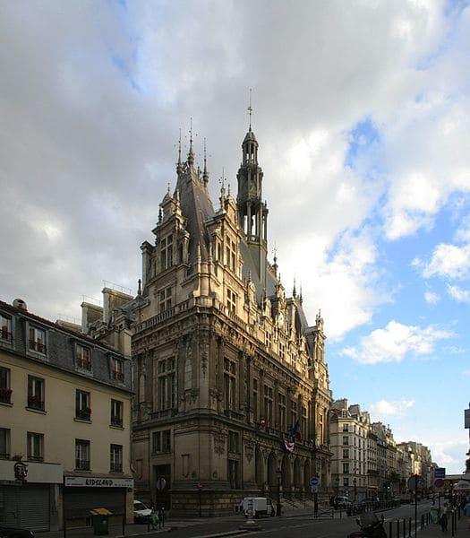 La mairie du 10ème arrondissement de Paris