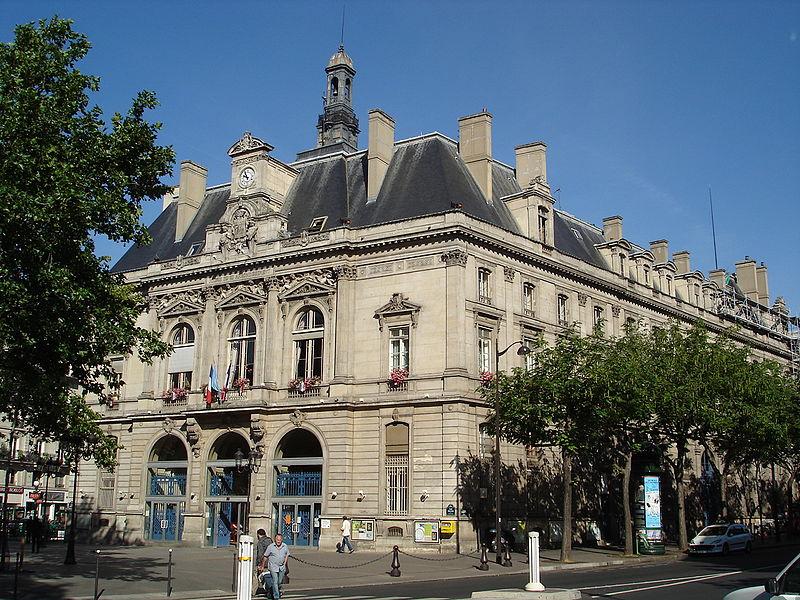 La mairie du 11ème arrondissement de Paris