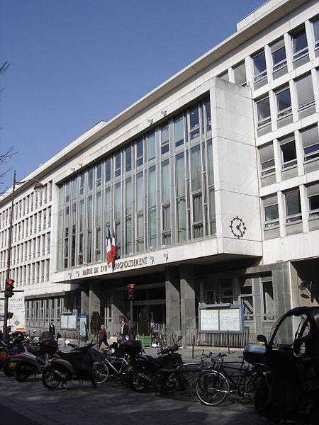 La mairie du 17ème arrondissement