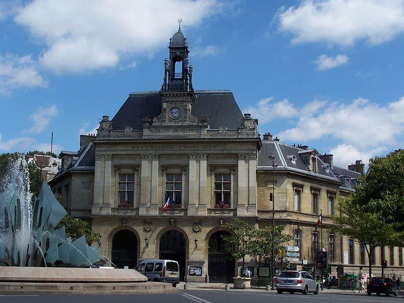 La mairie du 20ème arrondissement