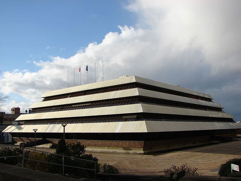La mairie de Nanterre