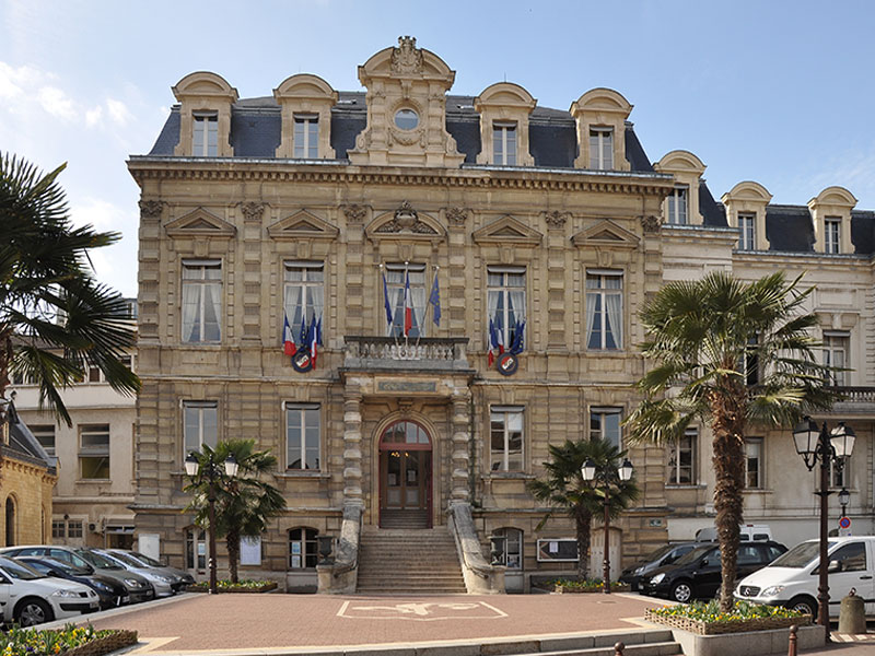 La mairie de Saint Cloud